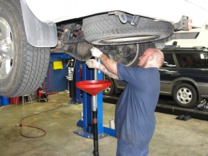 Qualified technicians to perform oil changes and maintenance