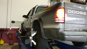 wheel alignment pickup