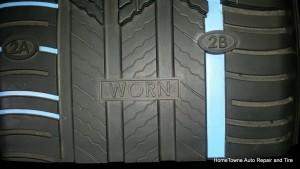 Michelin Premire tire safe when worn model