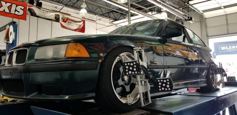 wheel alignment tire alignment bmw