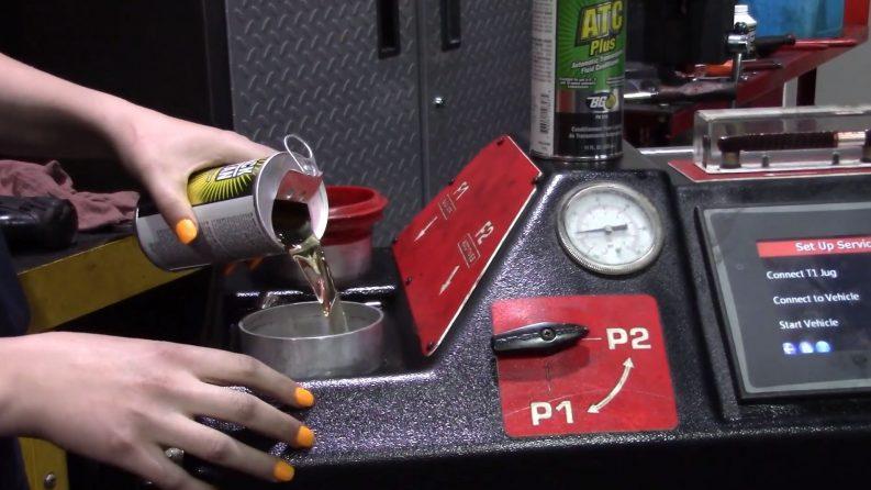 automatic transmission fluid exchange